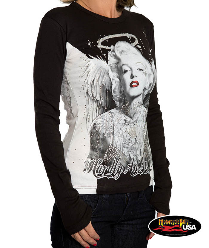 Hardly and Angel Marilyn Two Tone Long Sleeve