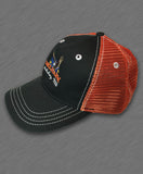 2015 Delmarva Eagle Orange and Black Mesh Hat