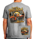 2016 OC BikeFest Tropical Bike Sport Grey T-shirt