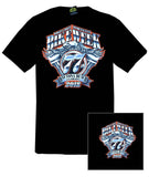 2018 Daytona Bike Week Official #1 Design Black T-Shirt
