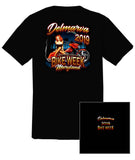 2019 Delmarva Pin Up Girl Black T-shirt