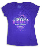 2017 MountainFest Purple Ladies Top