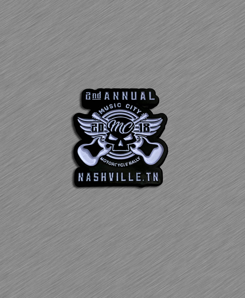 2018 Music City Official Pin