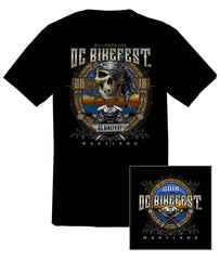 2018 OC BikeFest Pirate Black T-Shirt