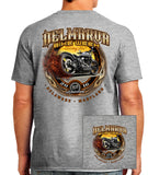 2016 Delmarva Burnout Bike Sport Grey T-shirt