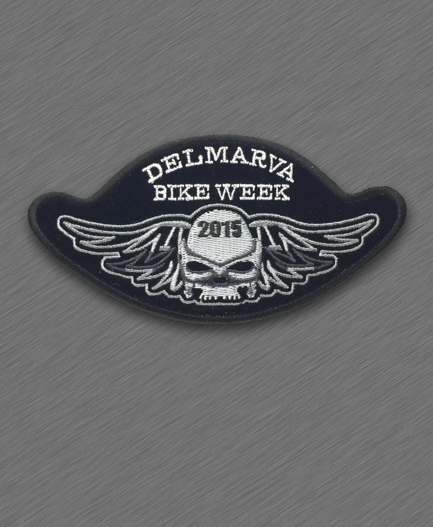 2015 Delmarva Skull and Wings Patch
