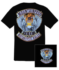 2019 MountainFest Eagle Black T-Shirt