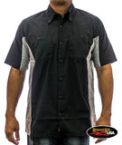 Bikers & Bitches Two Tone Work Shirt