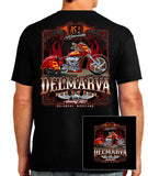 2016 Delmarva Fire Bike Black T-shirt
