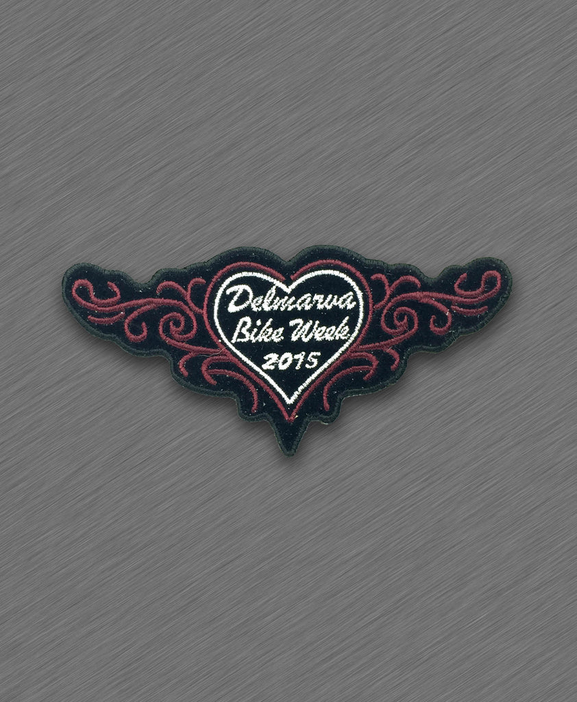 2015 Delmarva Red Heart and Tribals Patch