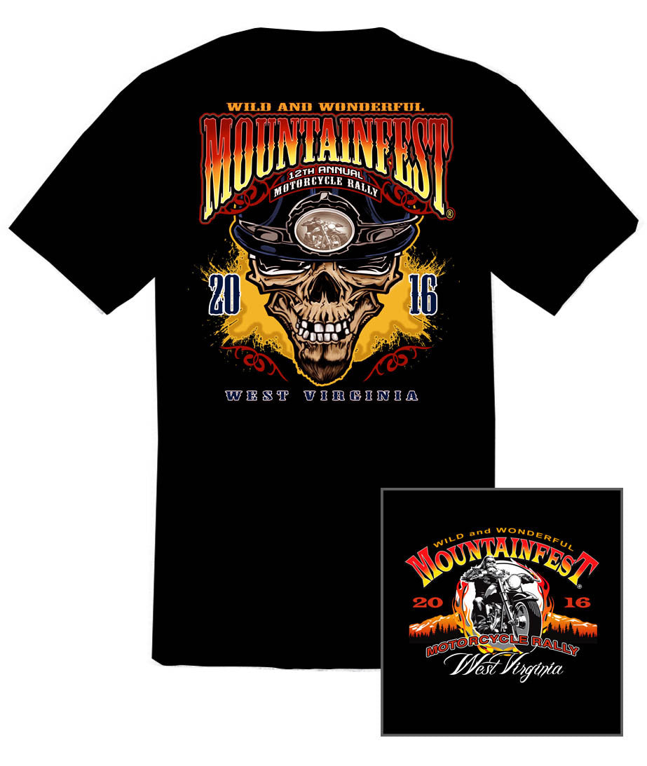 2016 MountainFest #1 Design Black T-Shirt
