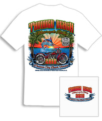 2018 Thunder Beach Marlin White T-Shirt