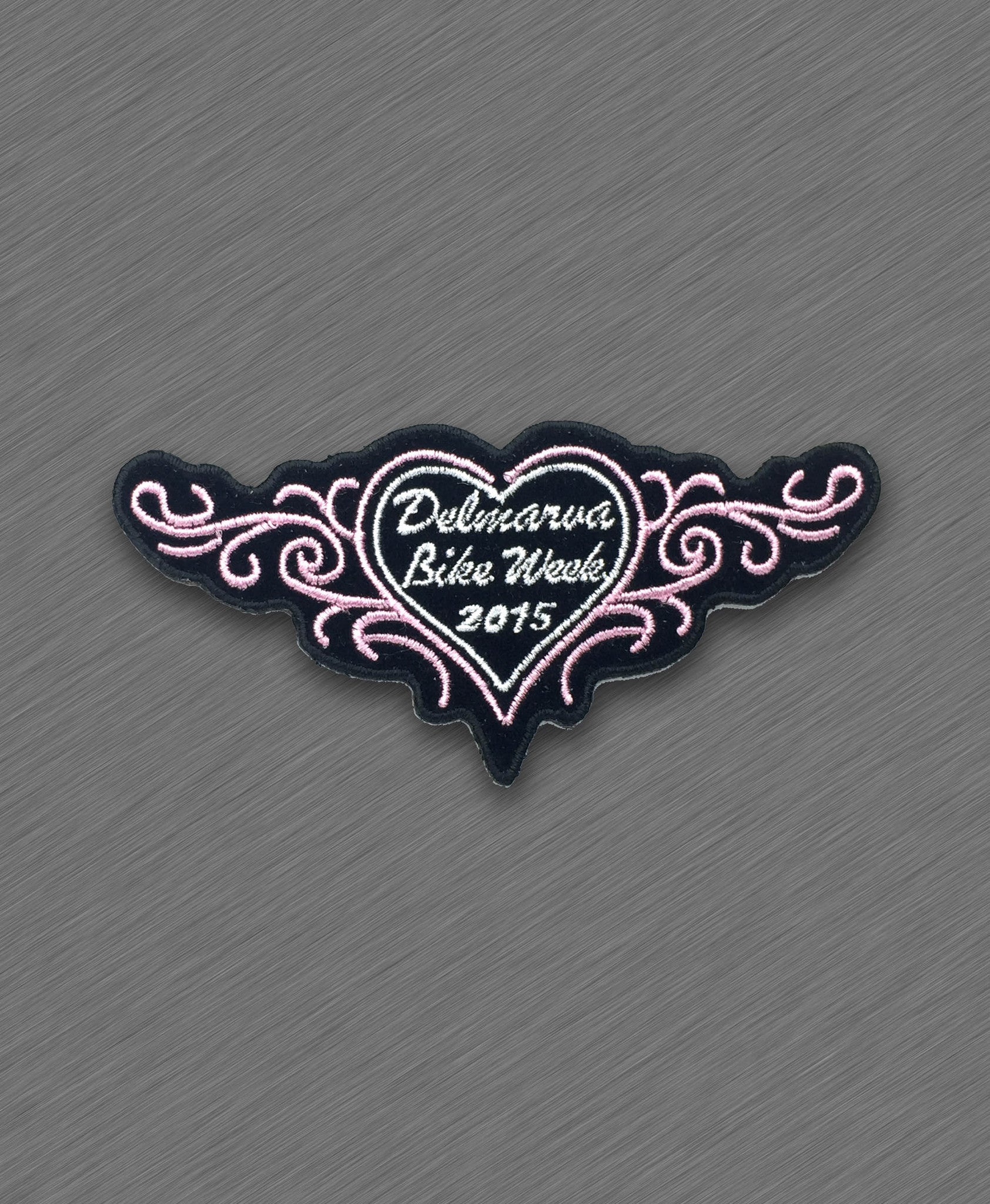 2015 Delmarva Pink Heart and Tribals Patch