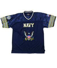 Navy Football Jersey - Blue