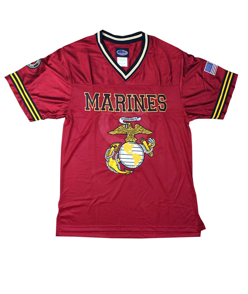 Marines Football Jersey - Red