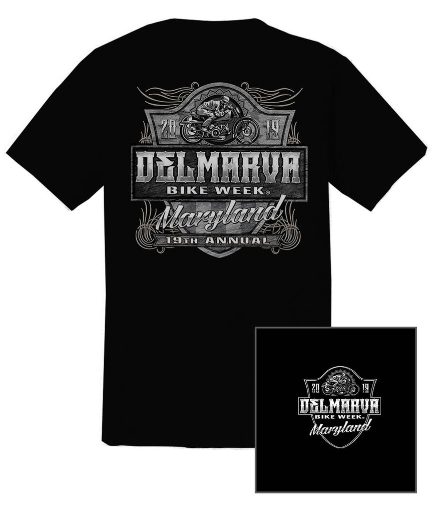 2019 Delmarva Shield  Black T-shirt