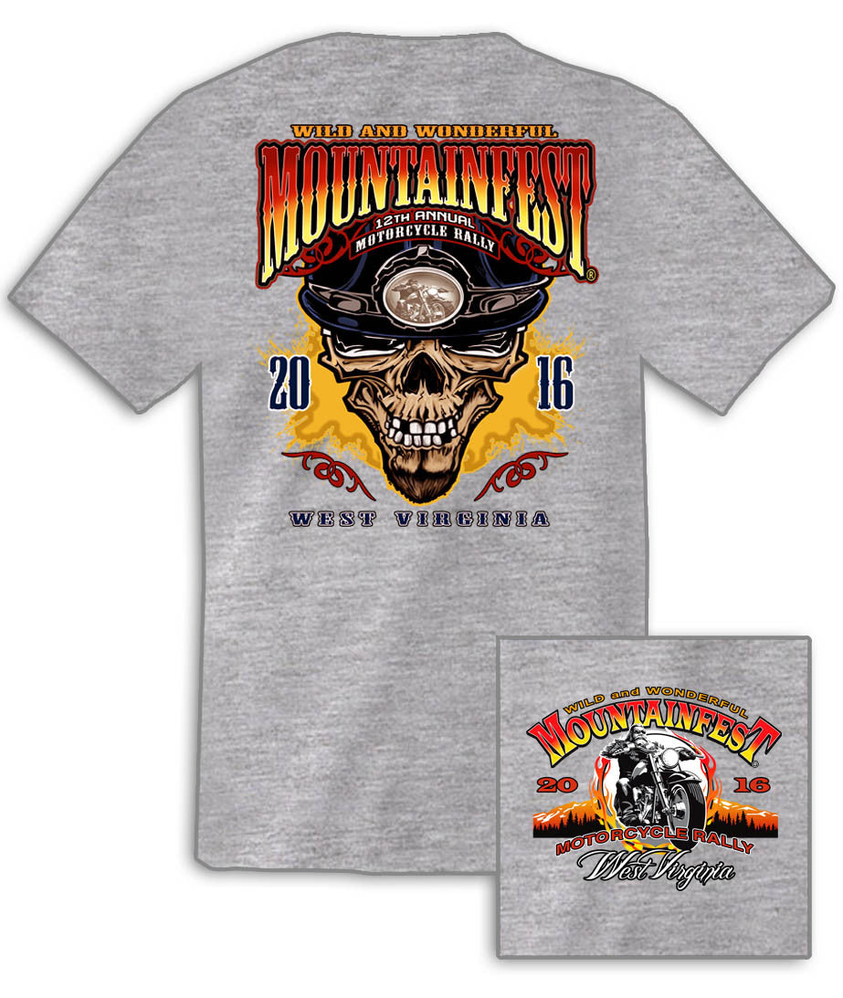 2016 MountainFest #1 Design Sport Grey T-Shirt