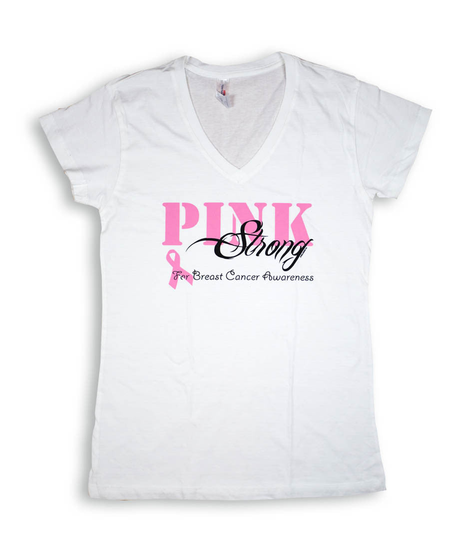 Pink Strong - Breast Cancer Awareness Ladies
