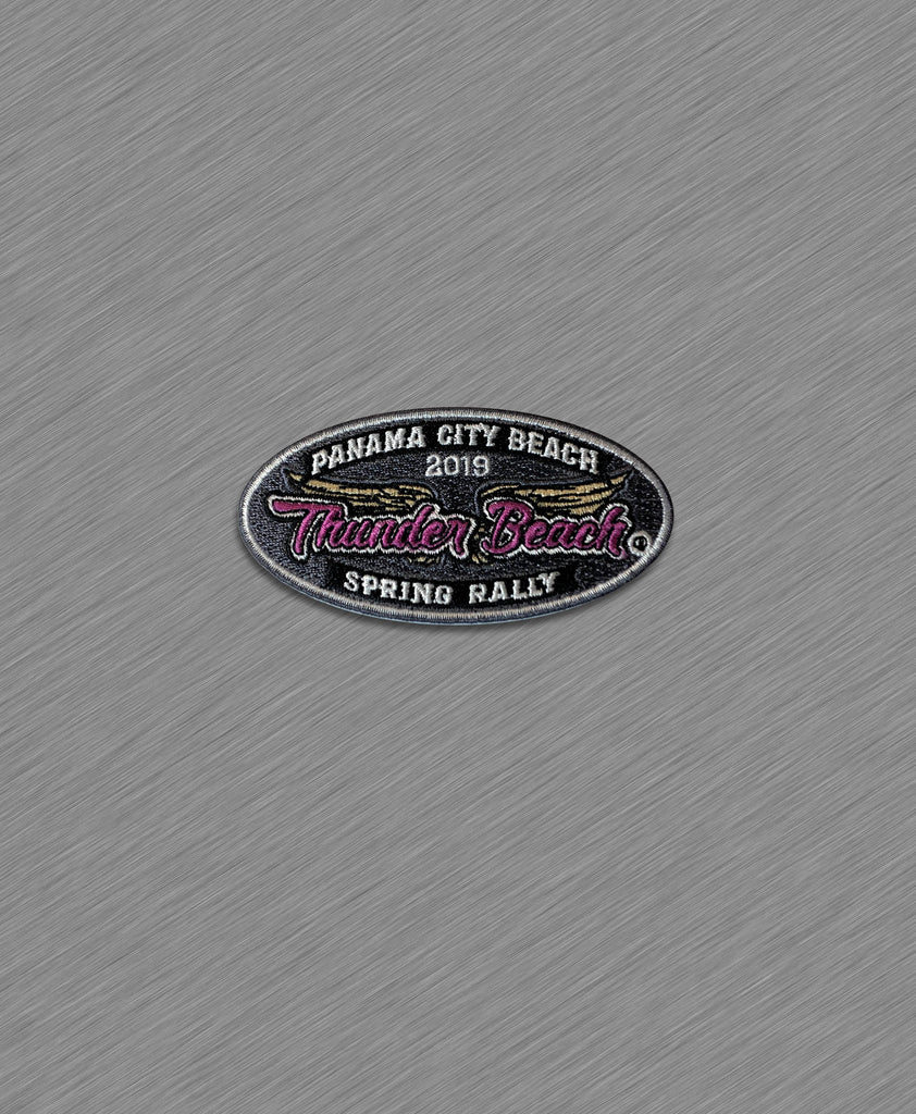 2019 Spring Thunder Beach Ladies Wings Patch