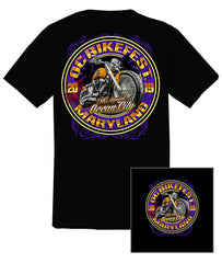 2019 OC BikeFest Bike  Black T-Shirt