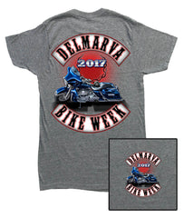 2017 Delmarva Bagger Heather Grey T-Shirt