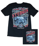 2017 Sturgis Main St. Black T-Shirt