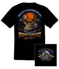 2017 MountainFest Coal Miner Black T-Shirt