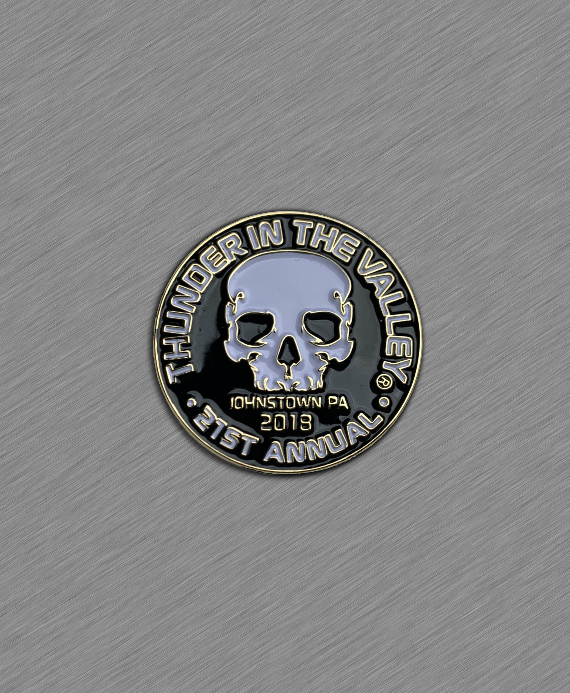 2018 Thunder in the Valley Official Pin