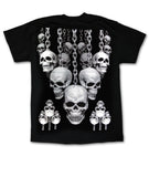 Chains & Skulls Black T-Shirt