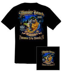 2018 Autumn Thunder Beach #1 Design Black T-Shirt