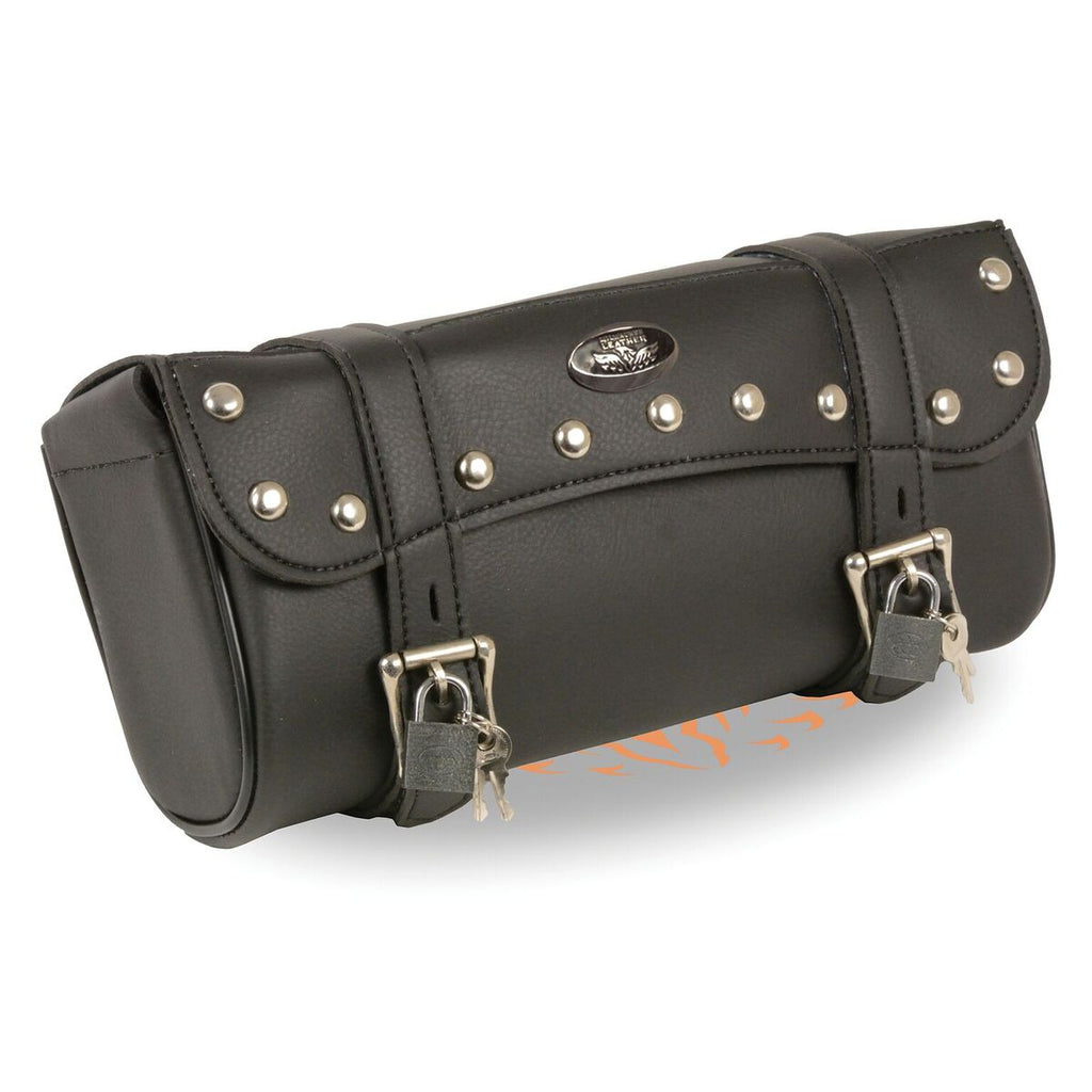 Large Studded PVC Tool Bag with Key Locks