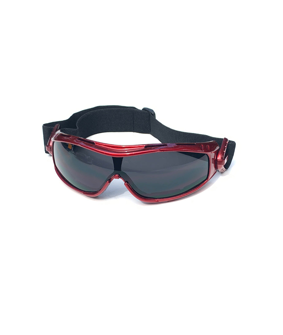 Protective Glasses 9160-SD with Red Frame