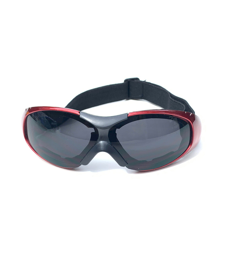 Protective Glasses 9159-SD with Red Frames
