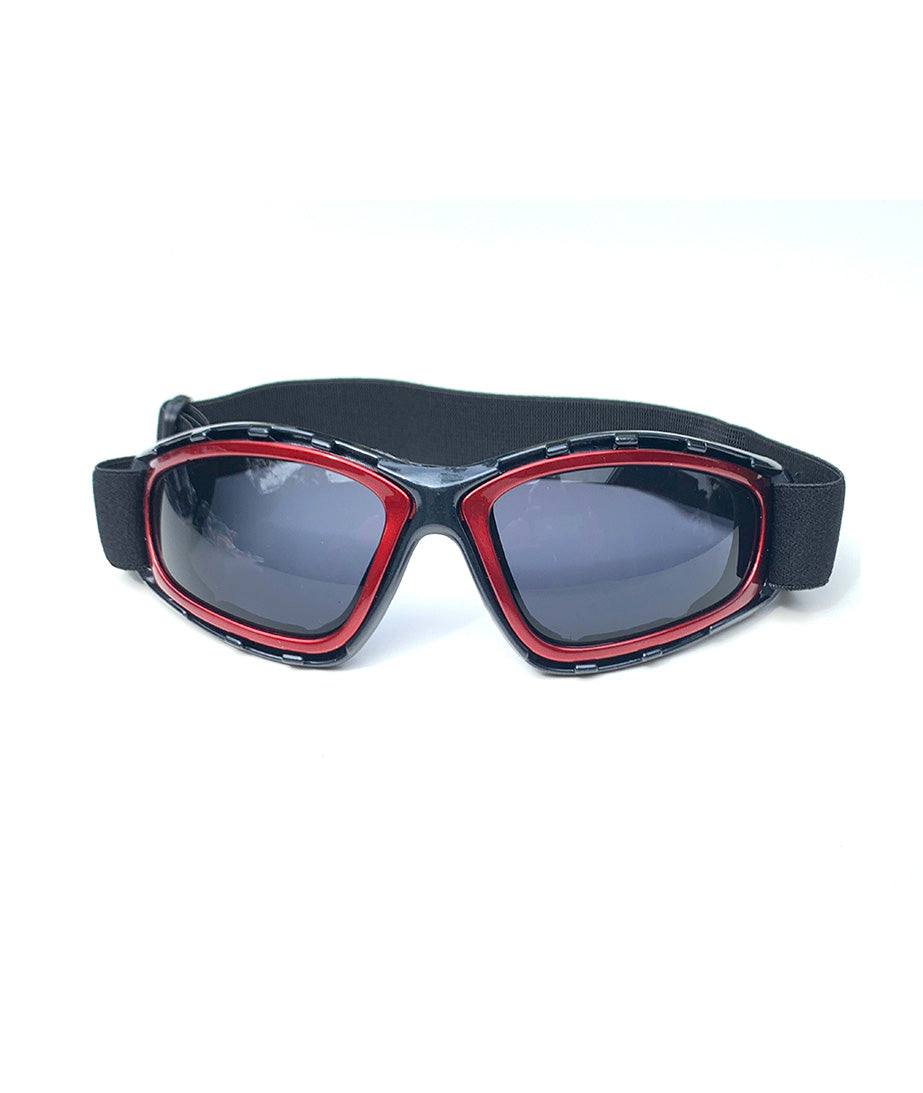 Protective Glasses 9157-SD with Red Frames