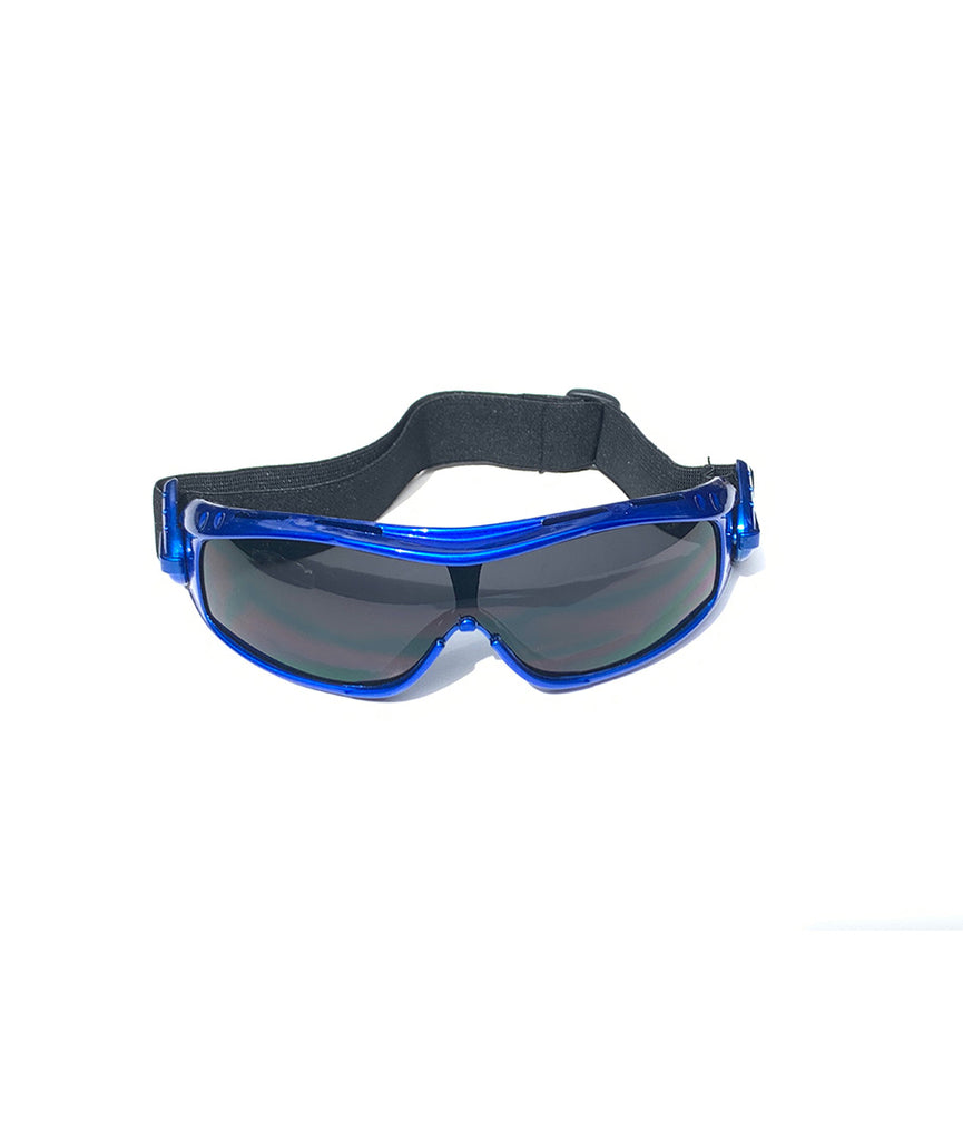 Protective Glasses 9160-SD with Blue Frame