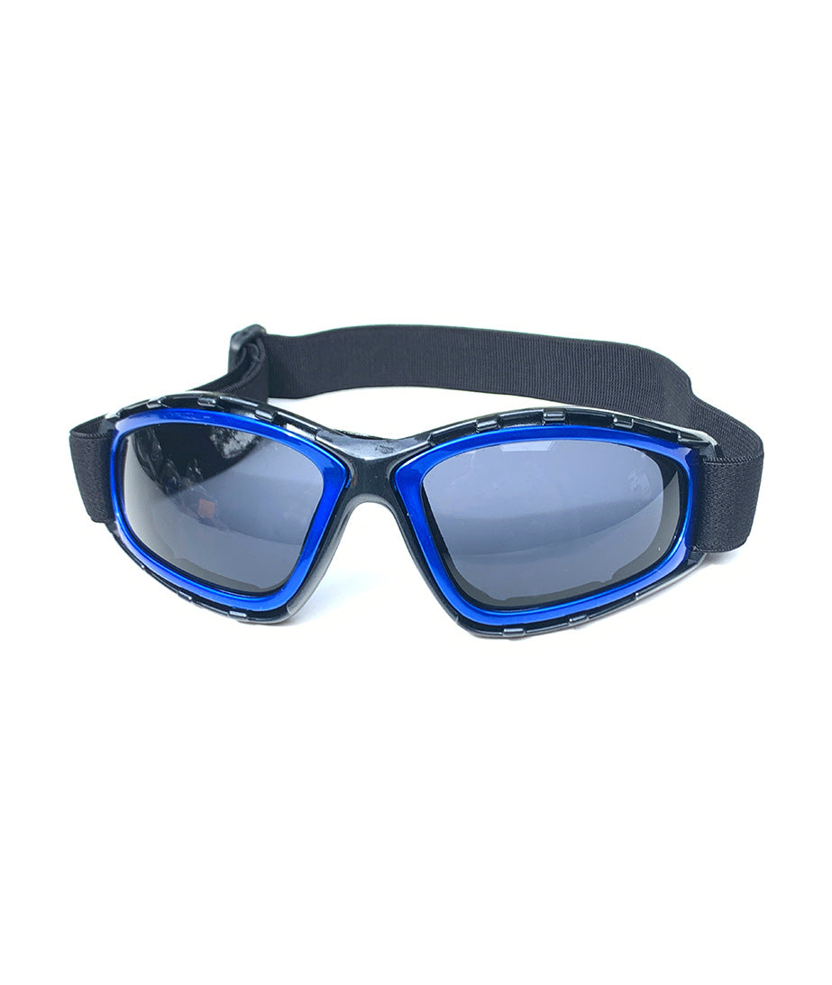 Protective Glasses 9157-SD with Blue  Frames