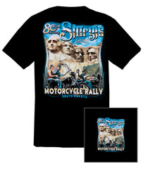 2020 Sturgis Mount Rushmore Black T-shirt