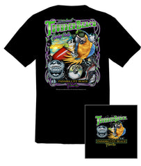 2020 Spring Thunder Beach #1 Design Black T-Shirt