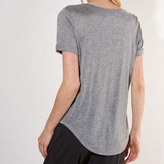 Heather Pocket Tee