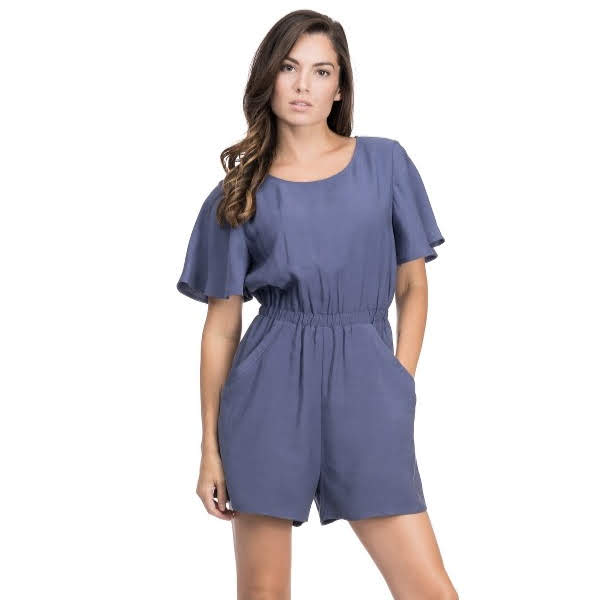 Blue for You Romper from Blues & Grey