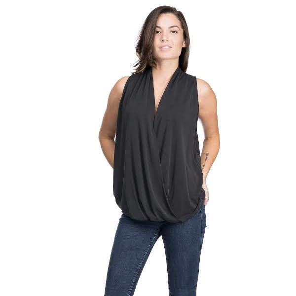 Fright Night Wrap Top from Blues & Grey