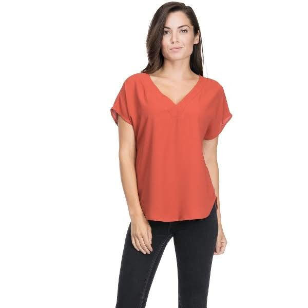 Pumpkin Patch Top from Blues & Grey