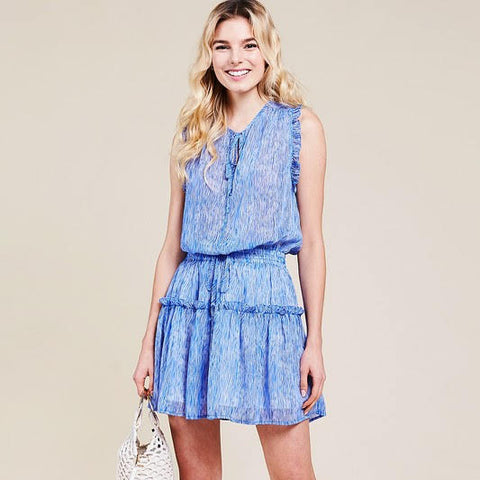 Happy Pool Days Ruffle Dress