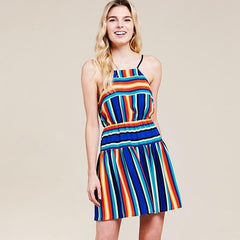Bright Stripes Dress