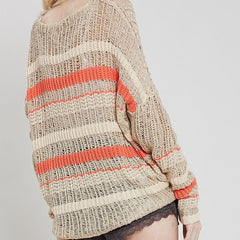 On Harvest Time Open Knit