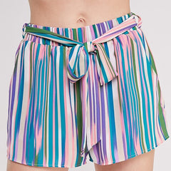 Spring Stripes Shorts