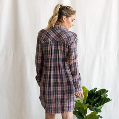 County Fair Plaid Dress