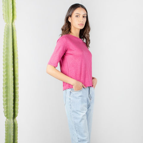 Michael Berry Linen Tee