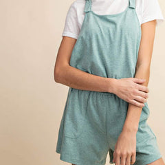 Teal Overalls