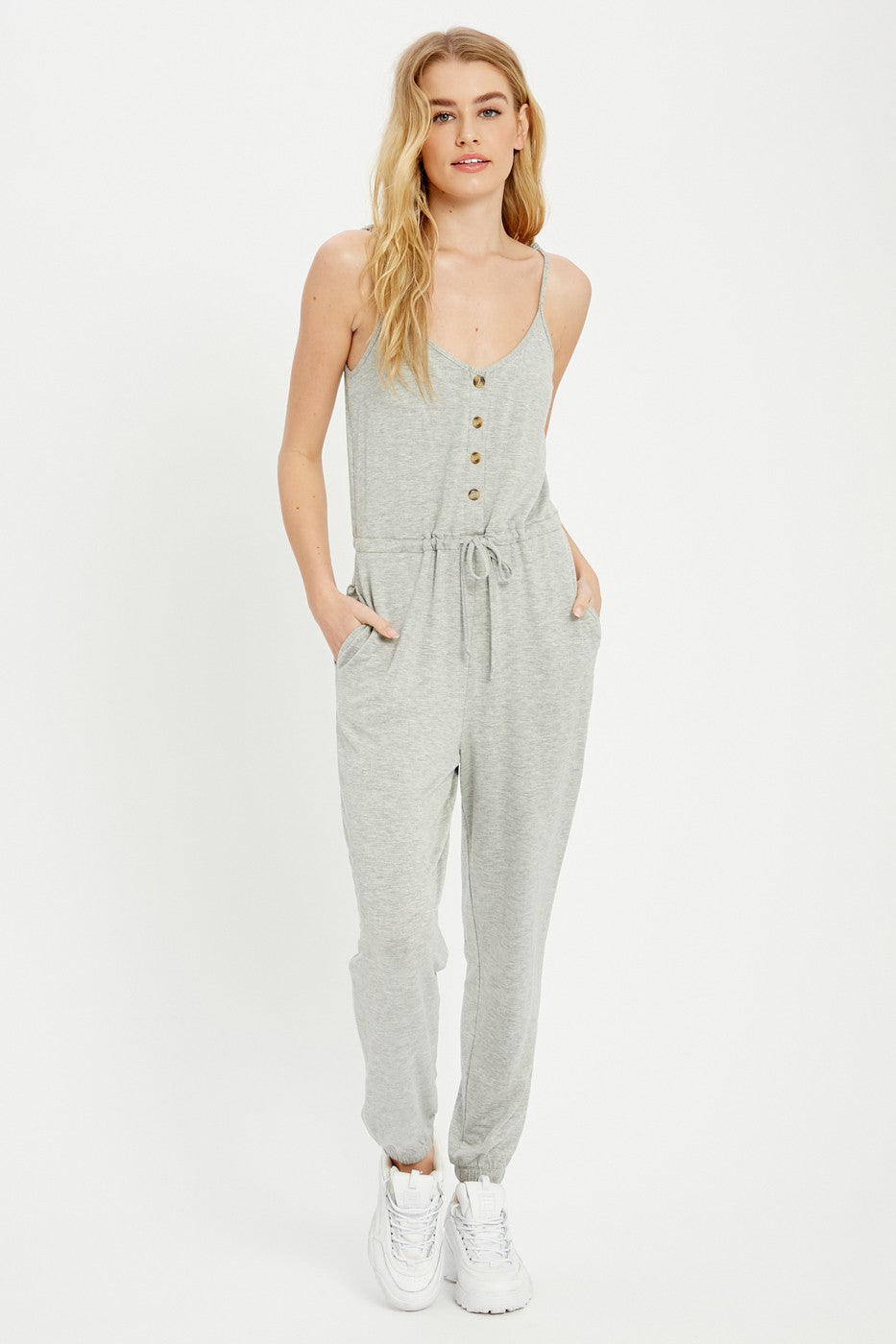 Easy on Sunday Mornings Jumpsuit